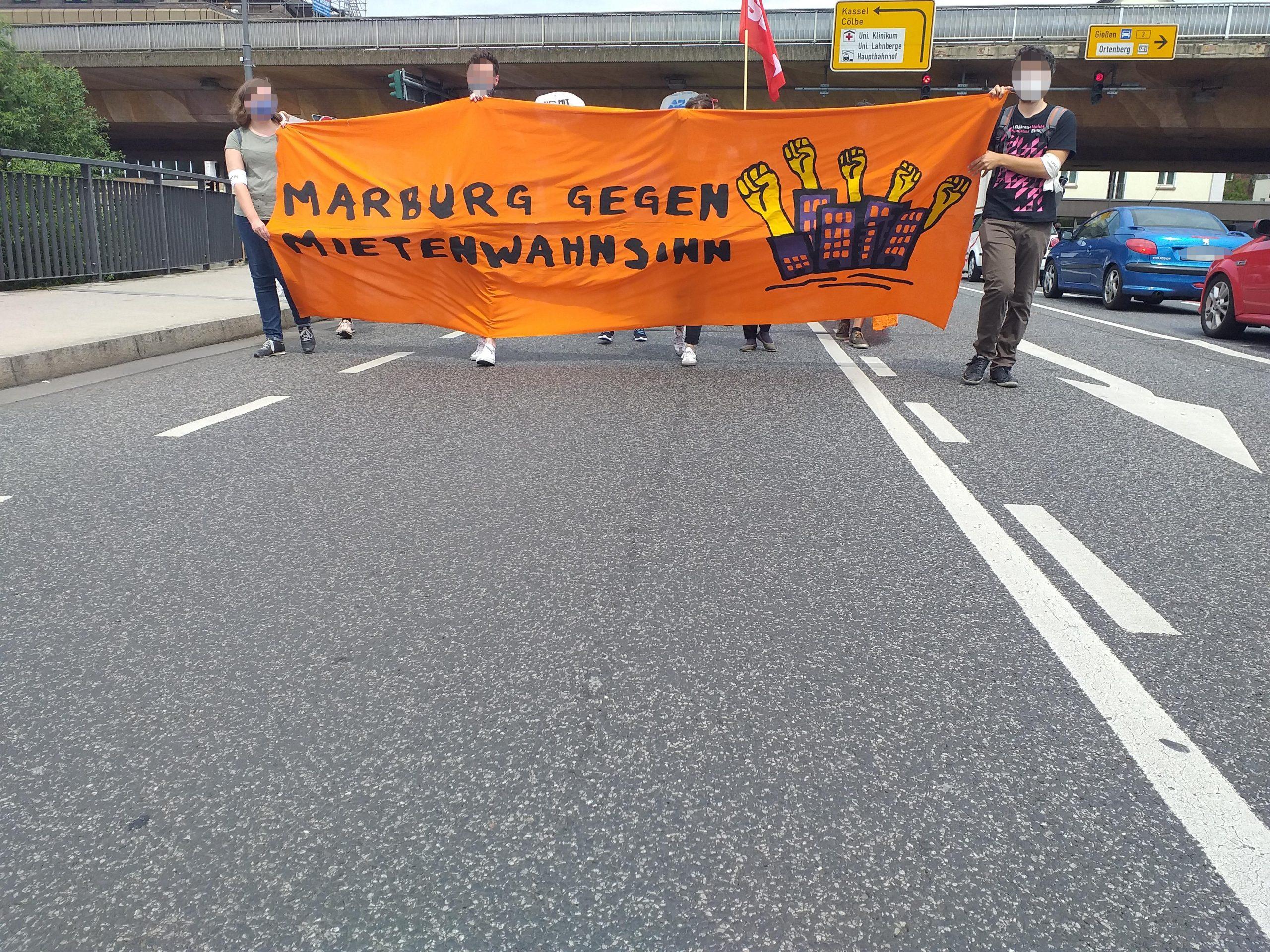 Redebeitrag: Marburg gegen Mietenwahnsinn