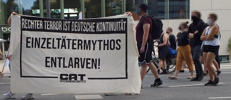 Hanau: Niemand wird vergessen!