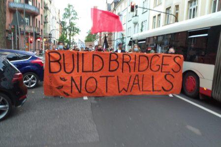 Redebeitrag zur Demonstration: Moria Brennt