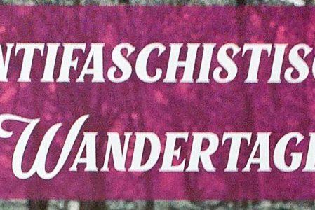 Antifaschistische Wandertage