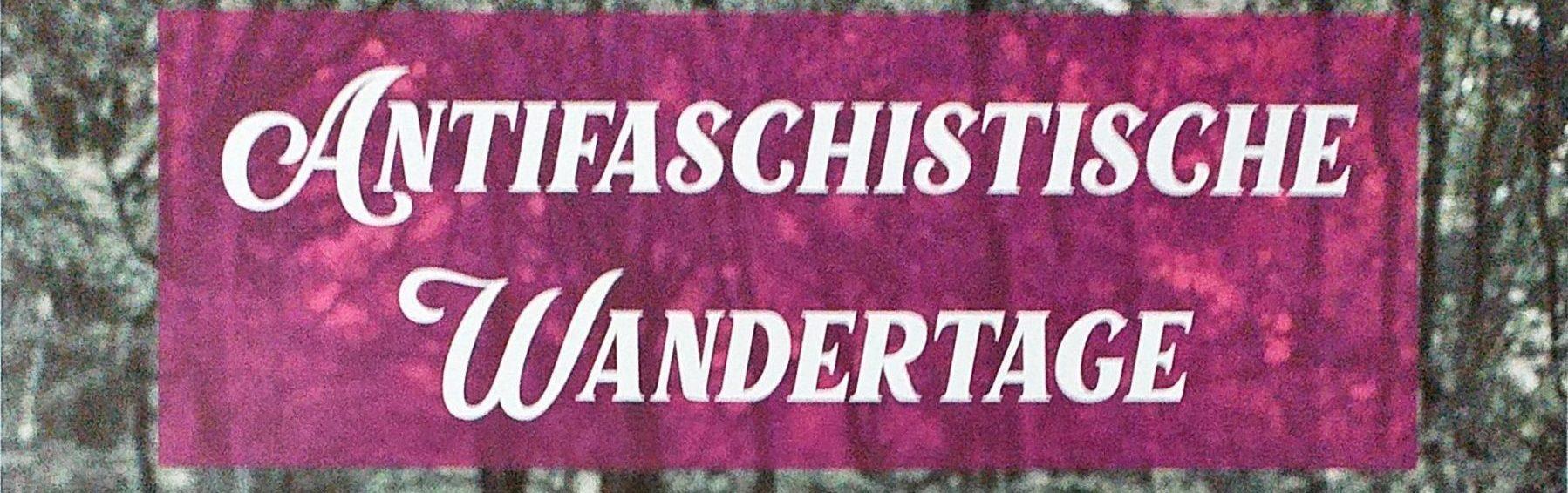 Antifaschistische Wanderung