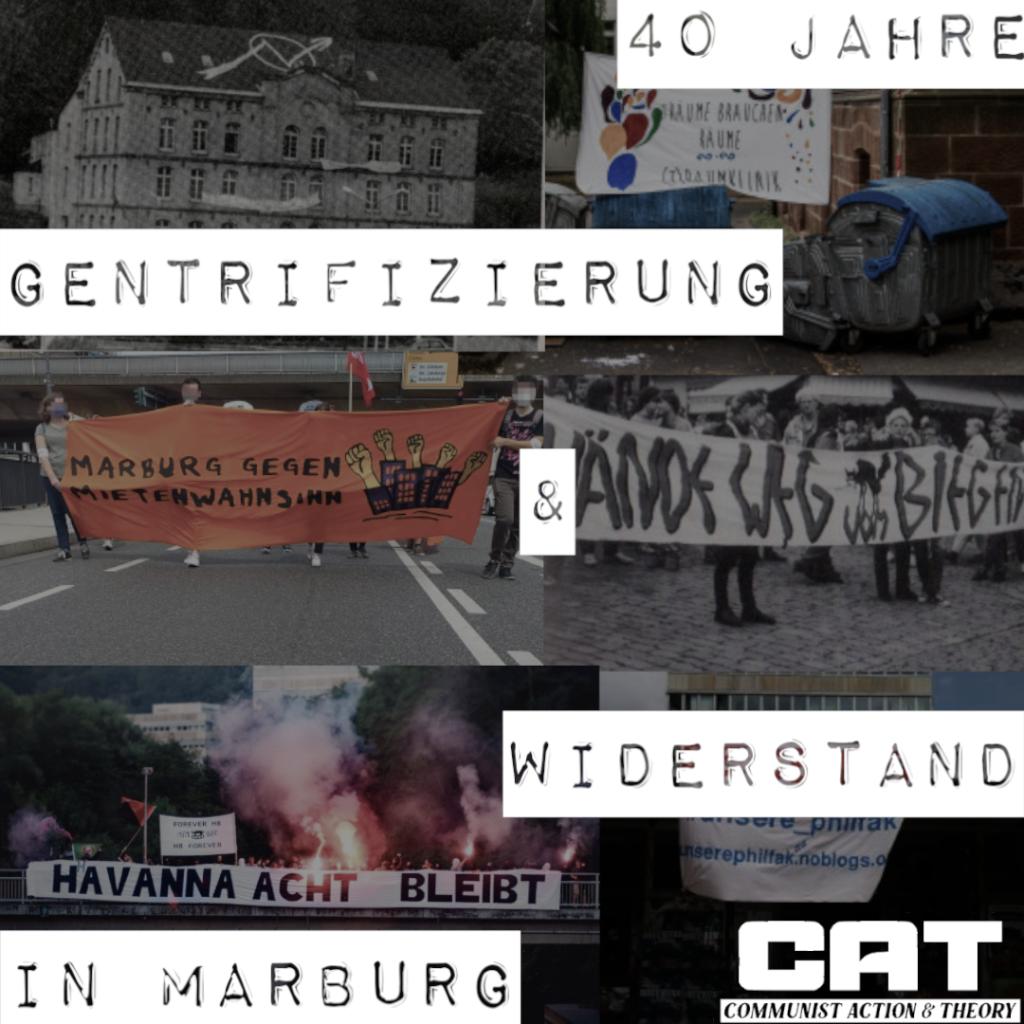 Vortrag: 40 Jahre Gentrifizierung und Widerstand in Marburg
